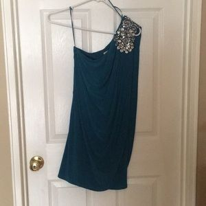 Teal/blue dress